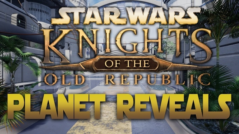 Apeiron's Star Wars Knights Of The Old Republic PLANET Gameplay Reveal - Manaan, Dantooine, MORE