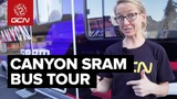 Inside The CanyonSRAM Team Bus