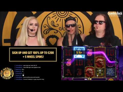 METAL CASINO LIVE! Sweden Rock Special: Crash Dïet