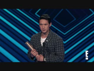 Harry Shum Jr. Thanks Shadowhunters Fans for E! PCAs Win - E! Peoples Choice Awards