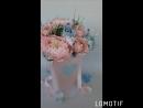 Интерьерная конфетная композиция Пудровые облака