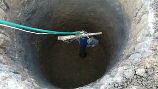 Выкопали 3 кессона.