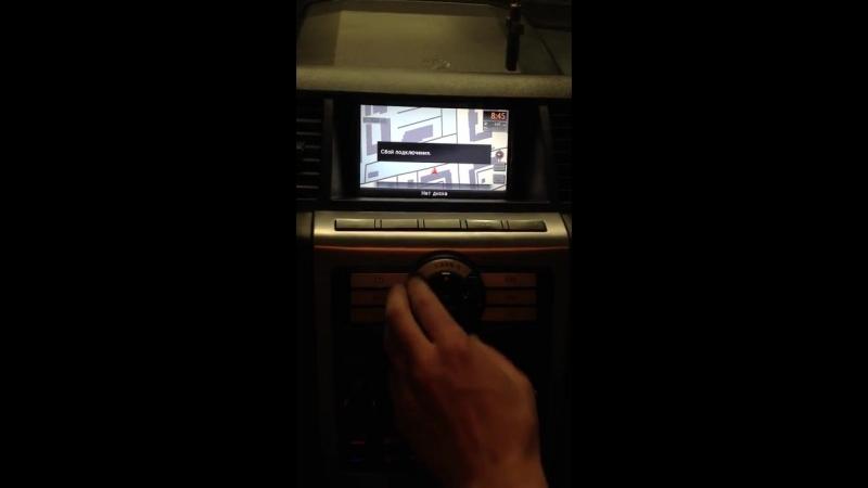 Nissan Murano 50 JAPAN (2003-06) - установка штатной мультимедиа от Murano 51. Р