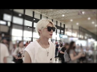 |180619| VIXX Leo on Gimpo Airport @ liveen TV