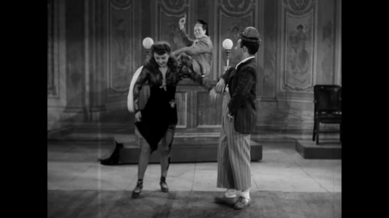 Pinky Lee And Barbara Stanwyck Swing Dance Routine
