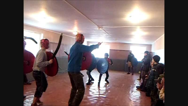 Большереченские казаки на молодежном межрегиональном фестивале (живой истории) военно-исторической реконструкции Тарский дозор.