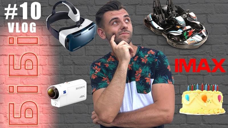 БіБі ВЛОГ10   Кращий подарунок на День Народження   Віртуальна Реальність VR   Картинг   IMAX КИЇВ
