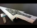 [kids fun toys] lego star wars MOC star destroyer, custom and homemade