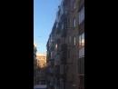 Уборка снега по московски Усиевича 2 Сегодня днём