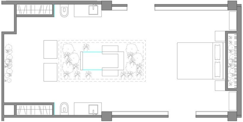 Дизайн интерьера «Сады Эдема»