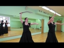 Directional shimmy with swords 1
