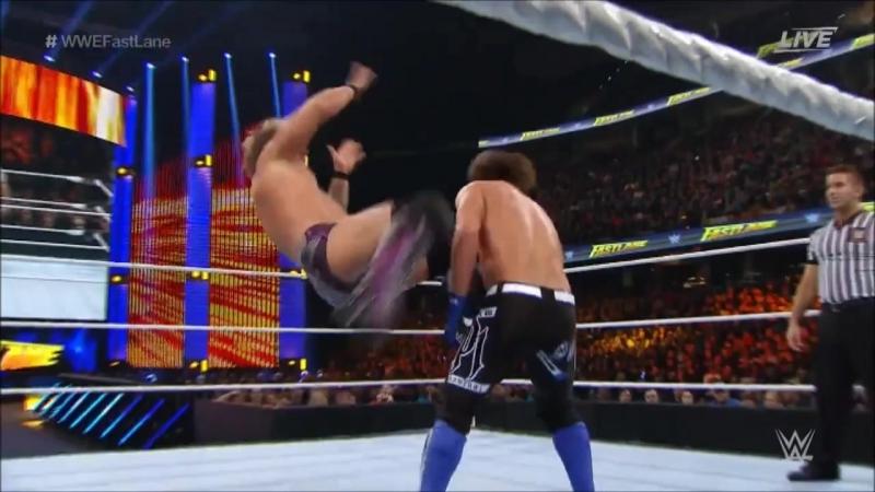 Chris Jericho vs AJ Styles 2