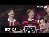(미공개) [2017MAMA x M2] NCT 127 Reaction to 슈퍼주니어s Performance