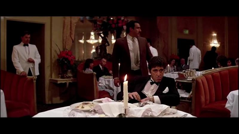 Сцена 7/10: Я всегда говорю правду. Даже когда вру — «Лицо со шрамом» (1983)