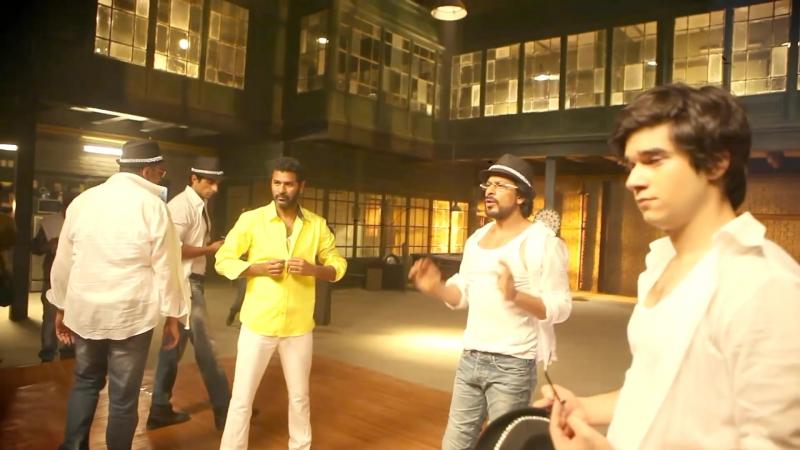 Happy New Year Behind the Scenes Prabhudeva Dance ¦ Shah Rukh Khan ¦ Abhishek Bachchan