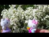 Видео для девочек. Хэллоу Китти - Китти садовница и прекрасные цветы