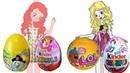 СЮРПРИЗЫ для девочек Распаковка киндер сюрприз Даша,,Смешарики,Лол,Принцессы диснея.