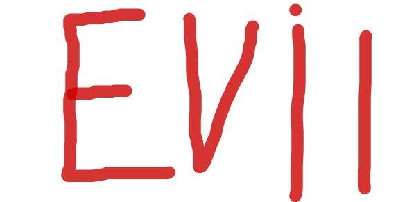 Evil | Купить роспись ВКонтакте на SignDonate