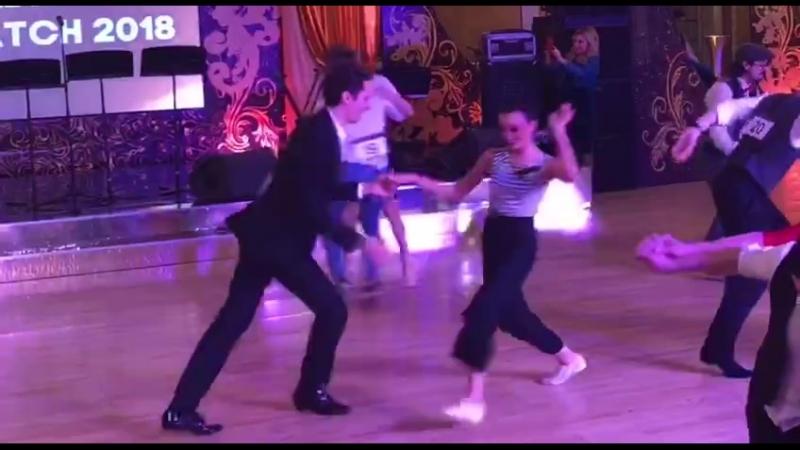 Lindy Hop_Даниил Сердитов и Юлия Буреничева
