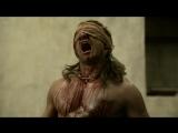 Ганник вышел на бой с закрытыми глазами - Спартак Боги арены  Spartacus Gods of the Arena сериал