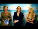 Kylie Minogue And Swinging Safari Actors Interview (Studio 10 12.12.2017)