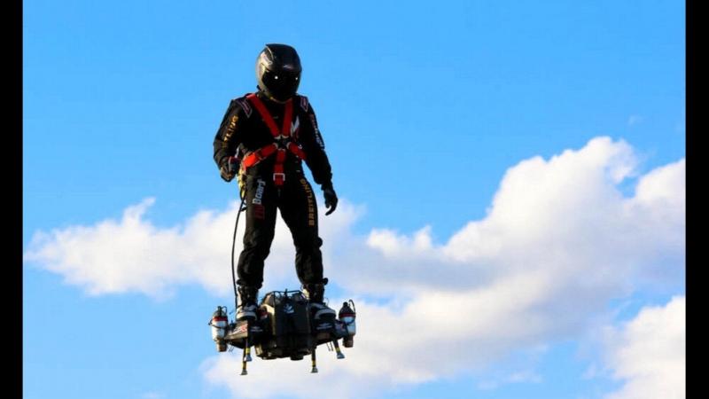 Flyboard Air: Encore un inventeur obligé d'aller développer ces brevets ailleurs, faute d'autorisations françaises !