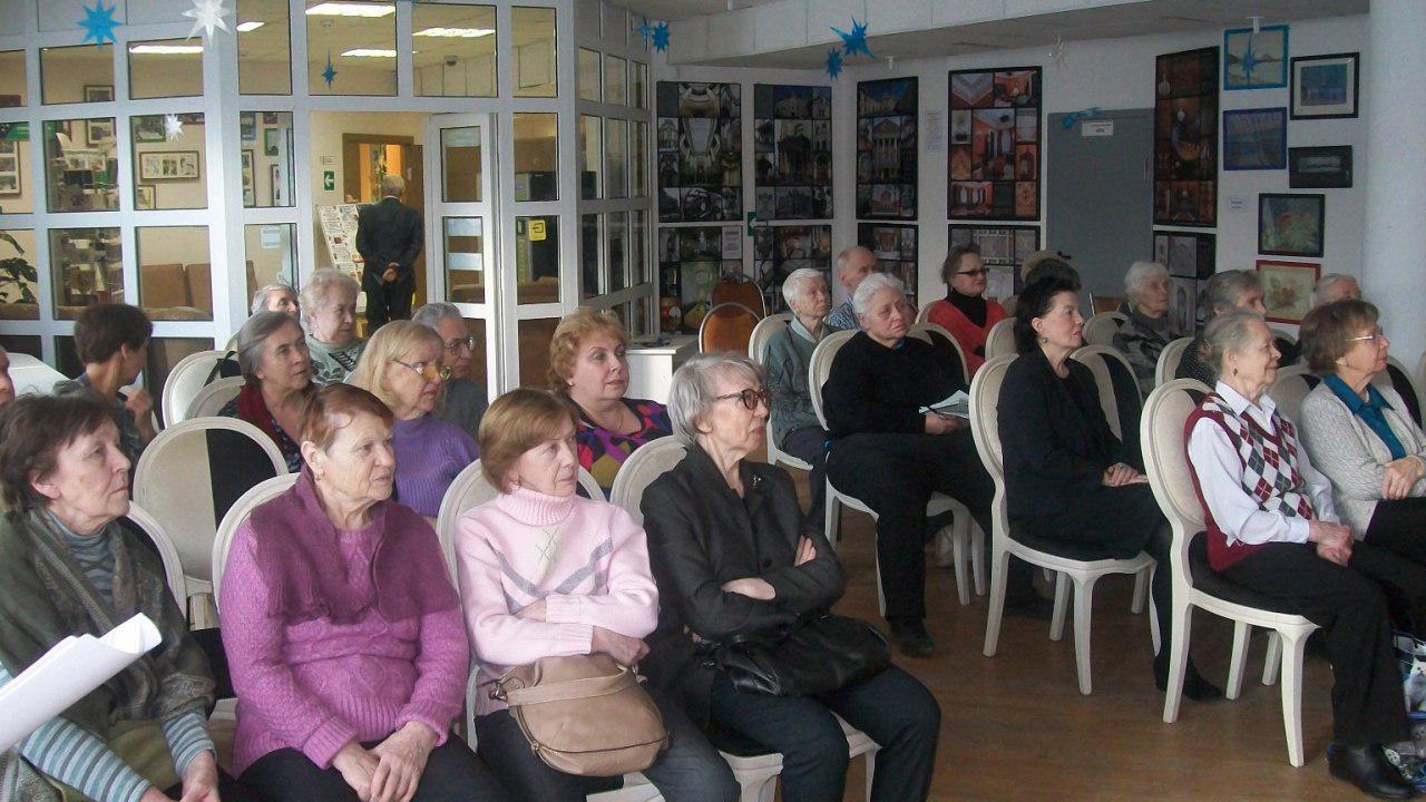Читателей библиотеки в Ховрине познакомили с творчеством «короля балета»