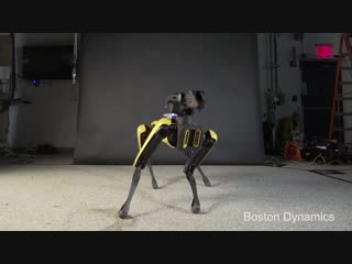 Танцующий робот от Boston Dynamics