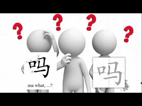 Origin of Chinese Characters 0104 吗嗎 ma what indicator for question