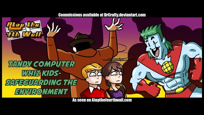 Tandy Computer Whiz Kids Safeguarding the Environment - Atop the Fourth Wall
