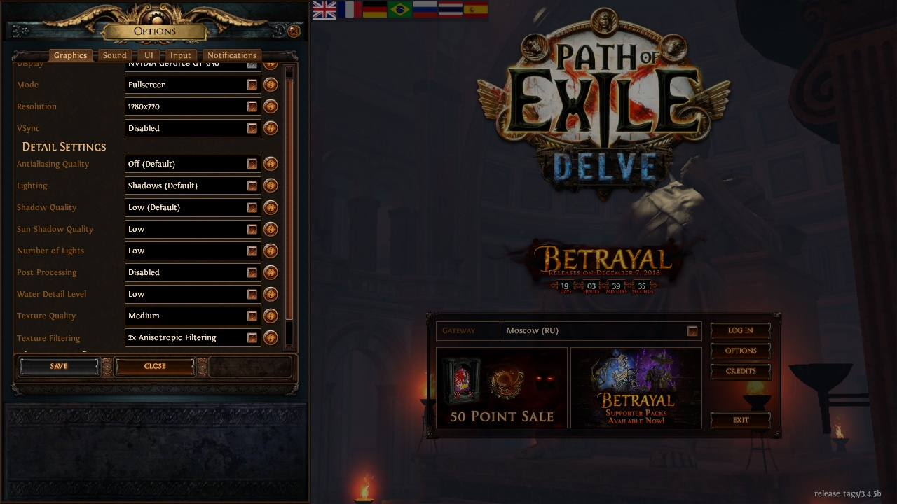 Forum - Technical Support - Strange lags - Path of Exile