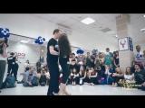 Maksim Alina Mikityuk _ ZOUK DEMO-2 _ ZoukSamba Christmas Holidays 2018