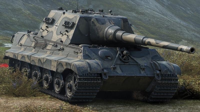 Немецкая ПТСАУ IX уровня Jagdtiger Никогда не сдавайся Когда союзников уже нет