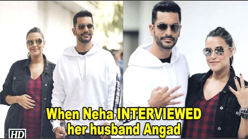 Apne Husband Ka Interview Lene Ja Rahi Hain Neha Dhupia | Angad Bedi
