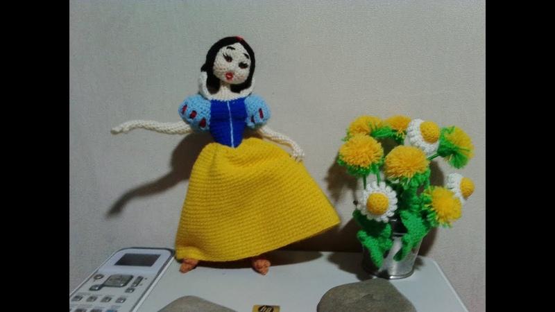 Белоснежка, ч.2. Snow White, р.2. Amigurumi. Crochet. Амигуруми. Игрушки крючком.