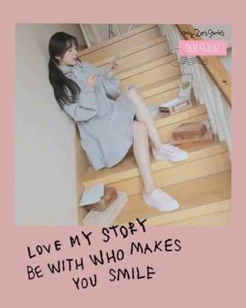 """누오보 on Instagram """"오늘도 열일하는 아이린의 패션룩은 핑크 스니커즈 💕 NERISSA 2.5(네리"""