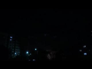 Ульяновск огни над городом неопознанный летающий объект НЛО