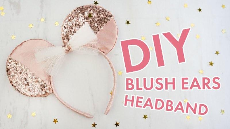 Blush Minnie Mouse Ears DIY | BalsaCircle.com