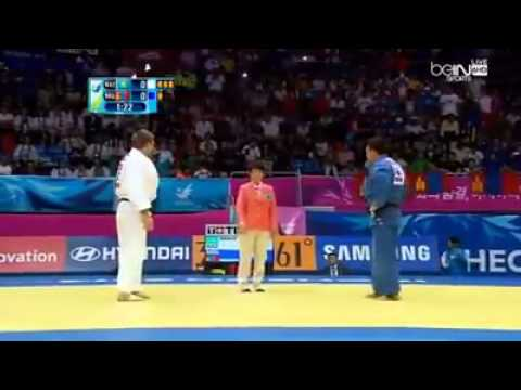17th Asian Games INCHEON 2014 JUDO -100kg Gold Medal