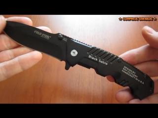 Тактический складной нож Cold Steel Black Sable