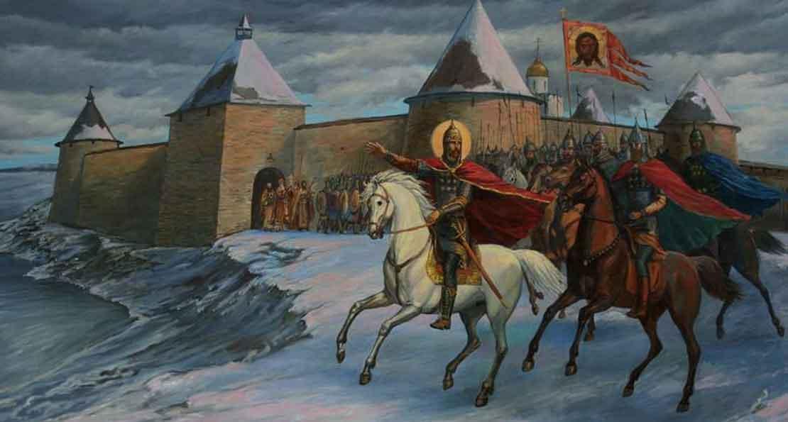 Александр и его войско