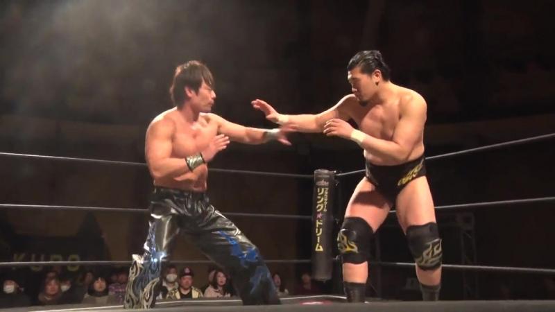 HARASHIMA vs. Kazusada Higuchi (DDT - Taisho Dramatic Romantic 2018)