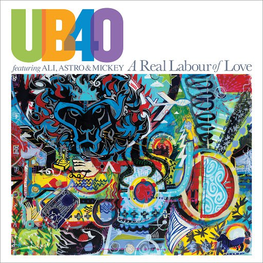 UB40 альбом A Real Labour Of Love