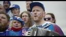 ICELAND Fans in Russia sing world famous KALINKA