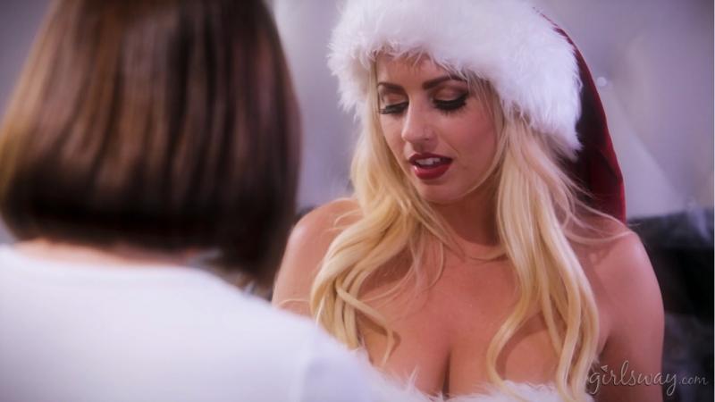 Jenna Sativa & Lexi Belle [HD 1080, Lesbian, Big Tits, Small Tits, Blonde, Brunette, Latina, Hairy, Christmas]