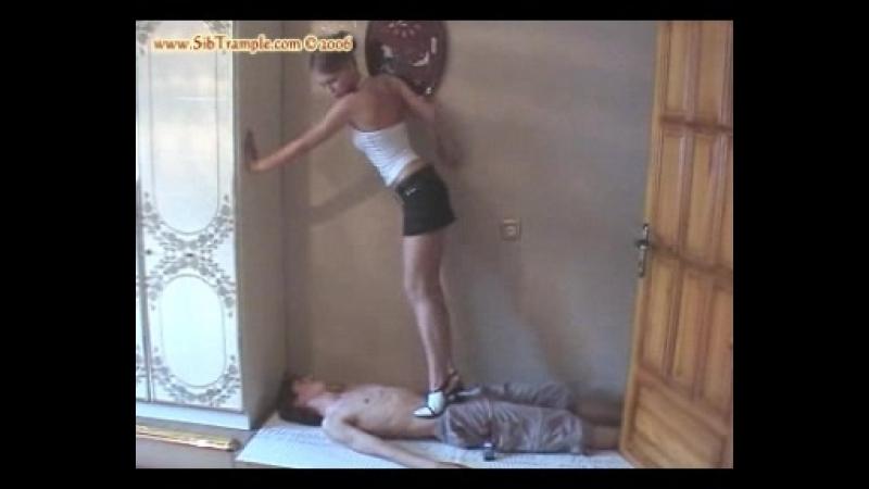 Zhenya Trampling - 3 (Barefeet Heels)