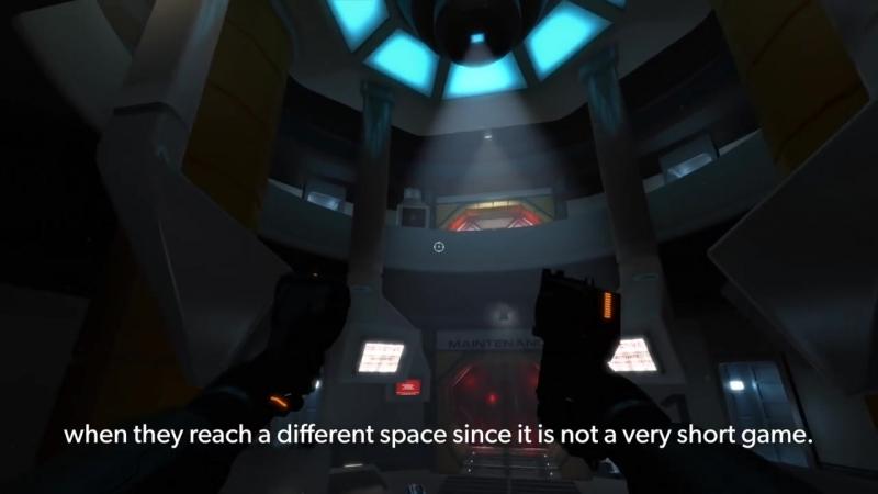 Downward Spiral Horus Station Dev Diary 2 ART PS4 PS VR