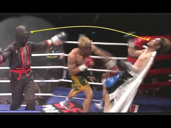โธ่ ! มึงไม่ไว้หน้าชุดนินจากูเลย Jay Solmiano vs Jumbo Oda Nobunaga