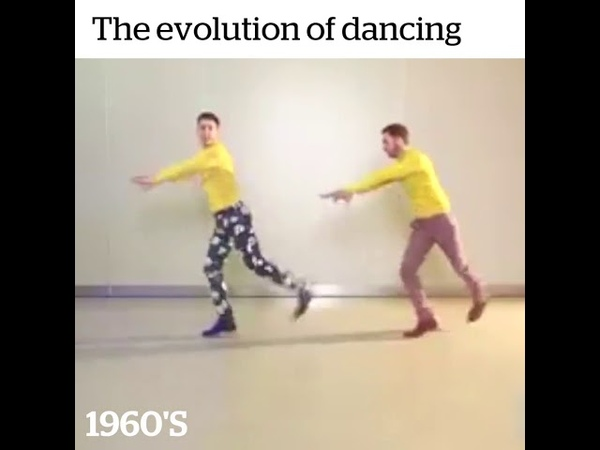 Evolution of Dance 1920-2000 Jahr