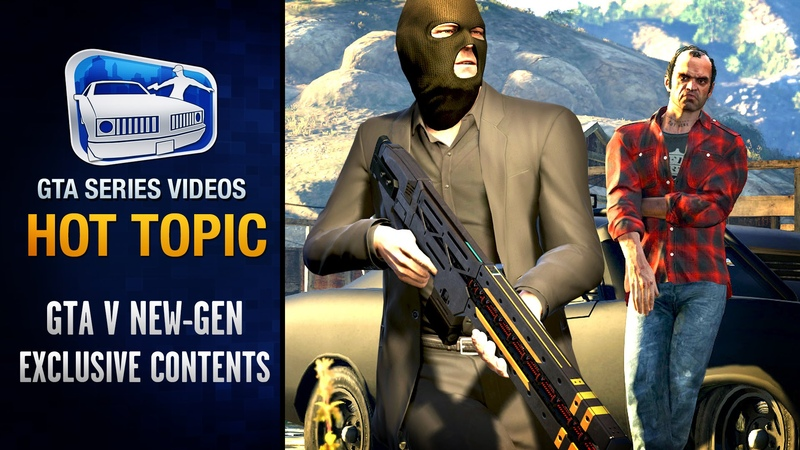 GTA 5 PC, PS4 Xbox One Exclusive Contents for Returning Players - Hot Topic 5